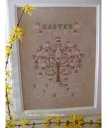 Easter Tree  cross stitch chart Cuore e Batticuore  - $12.60
