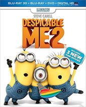 Despicable Me 2 [3D+Blu-ray+DVD]