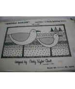 Shore Birds Applique with Strip Quilting Ocean Pattern - $9.00