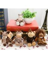 5pcs/lot 15cm Cute Stuffed Doll Jungle Brother Tiger Elephant Monkey Lio... - $16.00