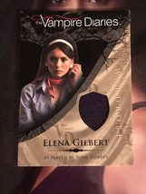 Vampire Diaries Season 1 Wardrobe Card M4 Nina Dobrev as Elena Gilbert - $75.24