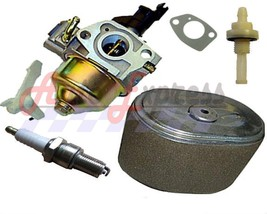 Honda GX240 8HP Carburetor & Air Filter Spark Plug Fits Honda Gasoline E... - $25.90