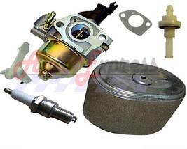 Honda GX240 8HP Carburetor & Air Filter Spark Plug Fits Honda Gasoline E... - $25.90