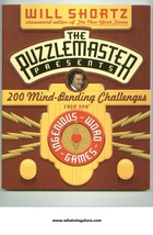Will Shortz puzzle book 200 Mind-Bending Challenges - $5.00