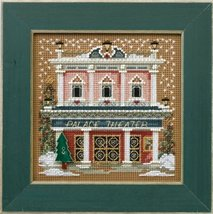 Palace Theater Winter Mill Hill 2014 Button and Beads kit Mill Hill  - $11.70