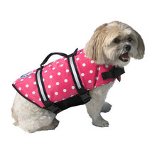 Pink Polka Dot Doggy Life Jacket - $19.95+