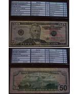 2004 $50 Federal Reserve STAR Note EG03084575 - $64.00