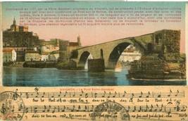 France, Avignon, Le Pont St-Benezet  1931 used Postcard CPA  - $4.99