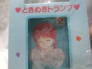 Tokimeki Memorial Yukari Playing Cards* Anime