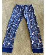 Disney Boys Blue Frozen Olaf Snowman Snug Fit Pajama Pants 6 - $5.95