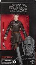 Star Wars The Black Series Count Dooku #107 action figure 6 inch - $32.88