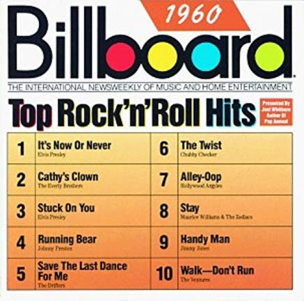 Billboard Top Rock'n'Roll Hits: 1960 Cd