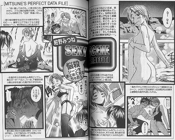 Love Hina 0 (Zero), Official Fan Guide Book, Art and Data, Manga by Ken Akamatsu
