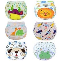 Yealoo 6 Pack Baby Training Pants Toddler Potty Training Underwear Cotton Boy, 2