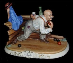 CAPODIMONTE  Playing Bocce by Enzo Arzenton Laurenz Classic Sculpture CO... - $547.68