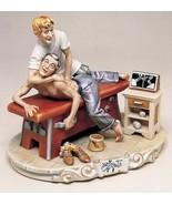 CAPODIMONTE Chiropractor by Enzo Arzenton Laurenz Classic  Sculpture COA... - $715.00