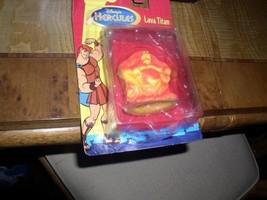 Disney Hercules Lava Titan a blob-like creature toy card crushed and bent - $19.34
