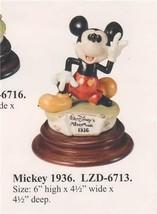 Disney Laurenz Capodimonte Mickey 1936  Figure COA Original Box - $367.65