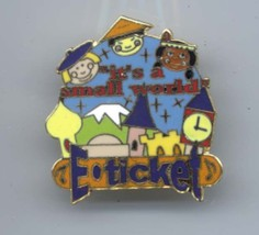 Disney Small World E-ticker LE 1,000 Authentic from Disney Parks pin/pins - $67.72