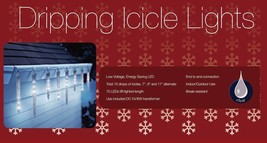 Holiday Lights 10 Dripping LED Christmas Outdoor Lighting Decoration - €29,60 EUR