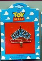Disney Toy Story 1 Buzz Lightyear Logo full body on Original Card Pin/Pins - $24.18
