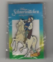 Disney Snow White  Prince with horse on the original card  German Pro Pi... - $29.02