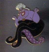 Disney  Ursula the sea Witch from The Little Mermaid Villain  pin/pins - $44.88