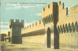 France, Avignon, Les Remparts, Boulevard St-Michel, early 1900s unused P... - $5.99