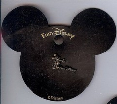 EuroDisney  Mickey Mouse standing full body w Euro Disney bbacker cardPin/Pins - $15.47