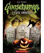 GOOSEBUMPS: Attack of Jack-O-Lanterns/Headless Ghost/Scarecrow Walks- (D... - $10.98