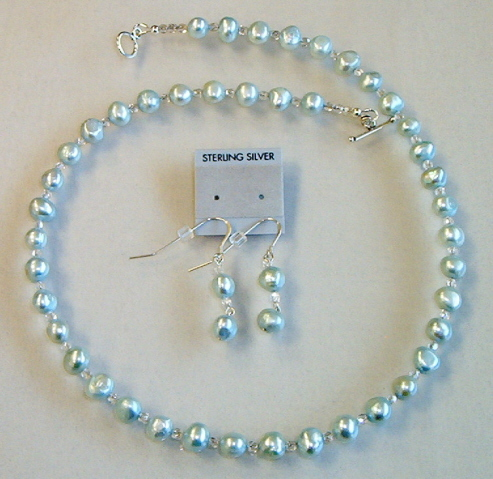 Necklace set, Simply Pearls, #7-10M4922, Free Ship