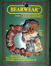 "Boyds Bearwear ""Grace..Born to Shop Wreath"" Resin Baseball Pin #26010*New - $8.99"