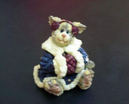 "Boyds Purrstone ""Miss Flufficat..Winter Snugglin"" #371017- 1E-NIB-2001- Retired - $19.99"
