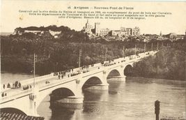 France, Avignon, Nouveau Pont de Pierre, early 1900s unused Postcard CPA  - $5.99