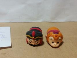 Disney TSUM TSUM PVC Palace Of Agrabah Aladdin--Jafar & Abu the Monkey - $8.00