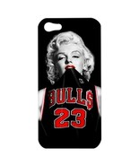 NEW iPhone 5 Hard Shell Case Cover Marilyn Monroe Chicago Bulls Gift 367... - $16.99