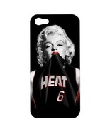 NEW iPhone 5 Hard Shell Case Cover Marilyn Monroe Miami Heat Gift 36704441 - $16.99