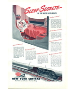 1946 New York Central Railroad water level route print ad - $10.00