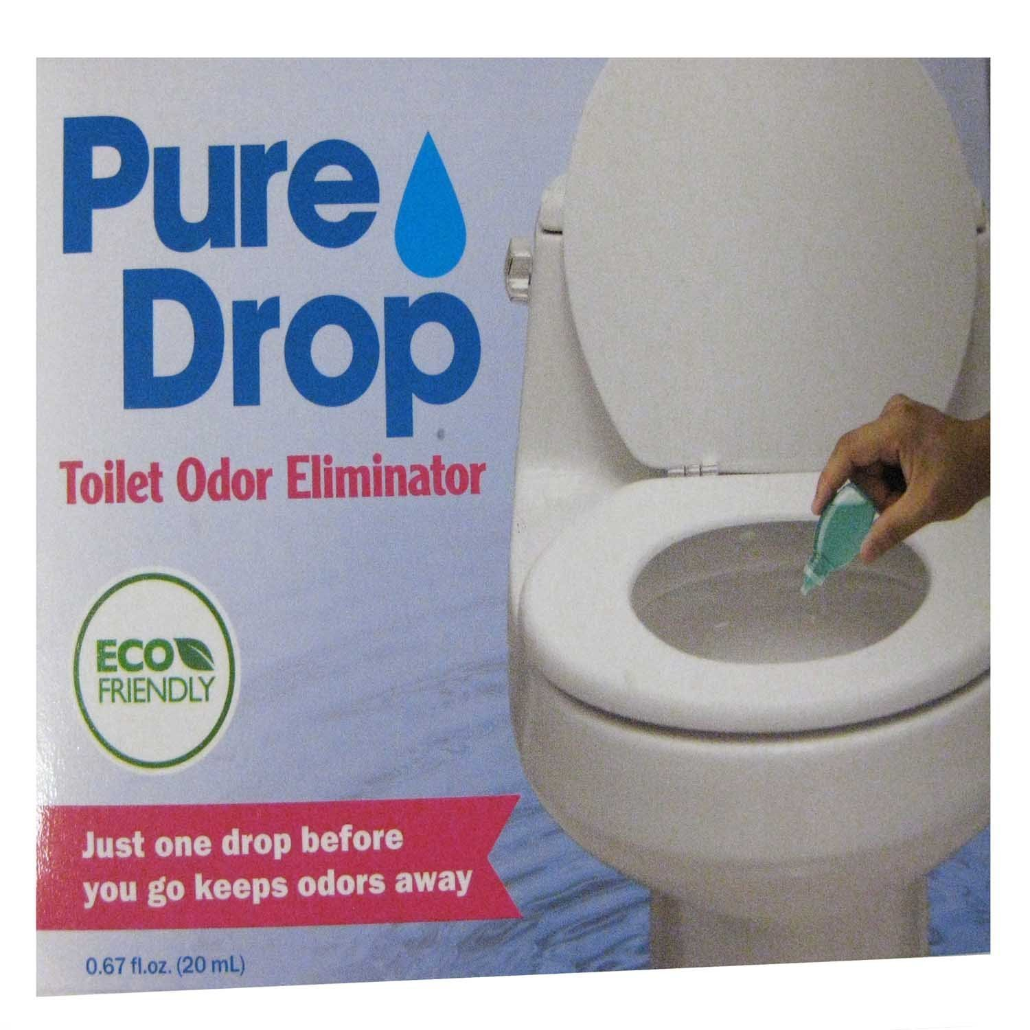Pure Drop Toilet Odor Eliminator Just One Drop Before You Go Keeps Odors Away Other