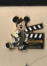 Mickey Mouse with baseball cap authentic DCA - Clapboard Disney pin/pins - $18.98