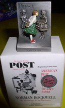 Norman Rockwell Check Up  Figurine Americana - $74.25