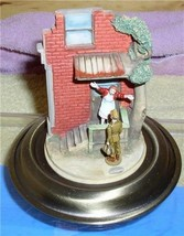 Norman Rockwell Home Coming Vignette Figurine Americana - $246.72