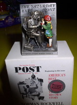 Norman Rockwell Doctor and Doll  figurine Americana - $64.35