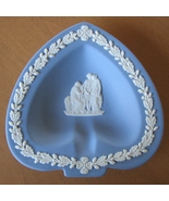 Wedgwood Jasperware Trinket Dish Ashtray Spade ... - $13.94