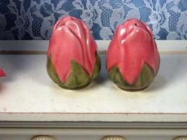 Vintage Franciscan Pottery Desert Rose Rosebud Salt and Pepper Shaker Set, Calif - $39.99