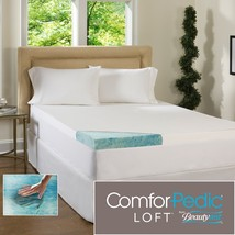 Beautyrest 3-inch Gel Memory Foam Mattress Topper with Water Resistant C... - $149.50+