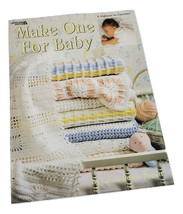 Make One for Baby 8 Afghans to Crochet Leisure Arts 2756 Carole Rutter T... - $14.50