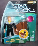 Playmates Star Trek CHIEF MILES O'BRIEN Action Figure from 1998 - $12.96