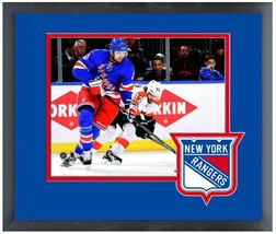 "Rick Nash New York Rangers 2013-14 Playoffs - 11"" x 14"" Matted and Framed Photo  - $43.55"