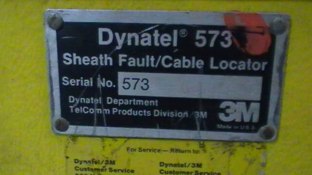 3m Cable Fault Locator : Dynatel m sheath fault cable locator detector